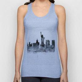 New York Skyline Unisex Tank Top