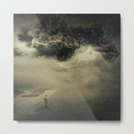 into the sandstorm Metal Print
