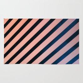 Diagonal Lines Rug