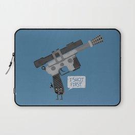 I Shot First!  Laptop Sleeve