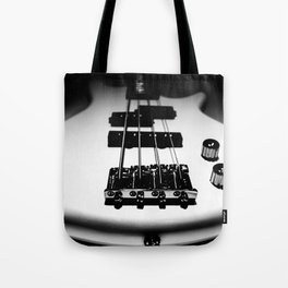 Bass Lines Tote Bag