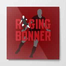 Raging Bonner Metal Print