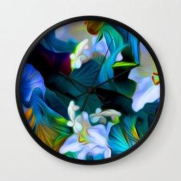 Languid Blue Comfort Wall Clock