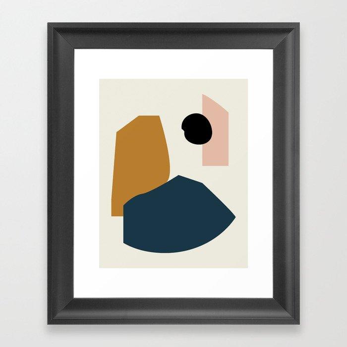 Shape study #1 - Lola Collection Gerahmter Kunstdruck