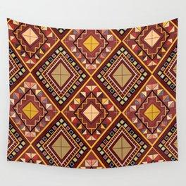 Saputangan - an Indigenous Filipino Tapestry Wall Tapestry