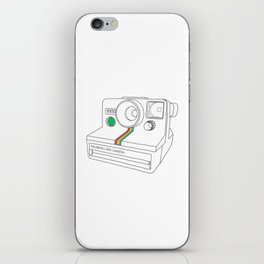 Vintage Camera - Land Camera 1000 (One Step) iPhone Skin