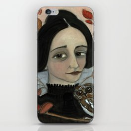 """Fall of the Dead Leaves"", Four Seasons Portait iPhone Skin"