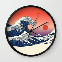 The Great Wave of Maltese Wall Clock