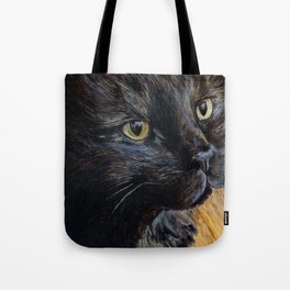 Sheila the Tortoiseshell Cat Tote Bag