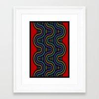 ramen Framed Art Prints featuring ramen by bigpoppae