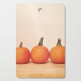 Tiny Pumpkin Friends Cutting Board