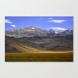Eastern Sierras 01 Canvas Print