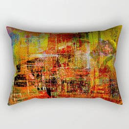 Quartier de Belleville 1925 Rectangular Pillow