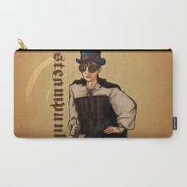 Steampunk Lady Carry-All Pouch