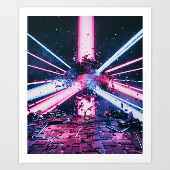 HELLSTAR Art Print