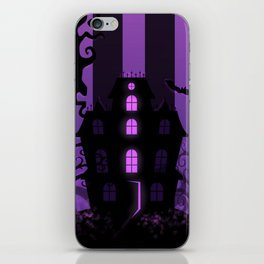 Be it ever so Haunted, there's no place like home. iPhone Skin