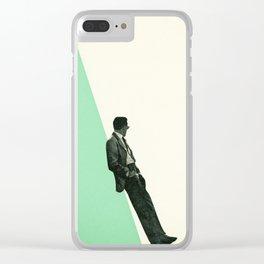 Cool As A Cucumber Clear iPhone Case