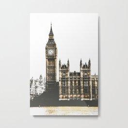 Vintage London 01 Metal Print