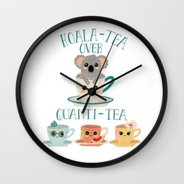 Koala-Tea Wall Clock