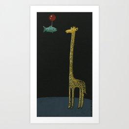 Visit Art Print