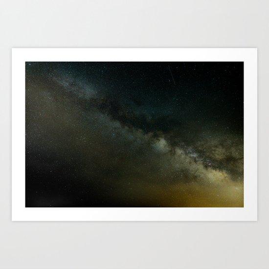 Amazing Galaxy Art Print