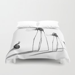 Rise of The Mammoths Duvet Cover