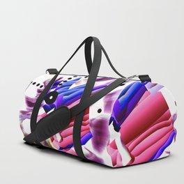 KO Pink and Blue Duffle Bag