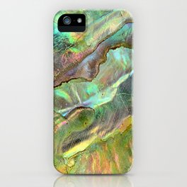 Yellow Abalone iPhone Case