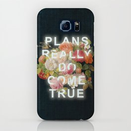 Plans Really Do Come True iPhone Case