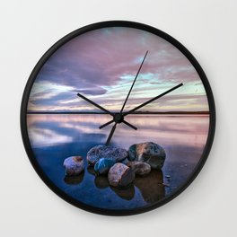 Tranquil Waters Wall Clock