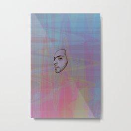subjective observer Metal Print