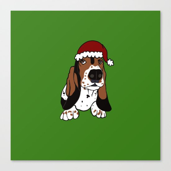A Basset Full of Christmas by melindatodd