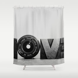 Love is ... Shower Curtain