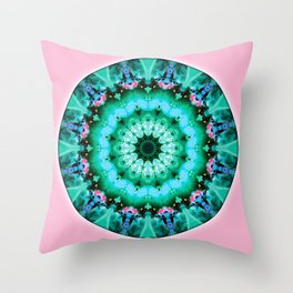 Mandalas from the Heart of Transformation 5 Throw Pillow