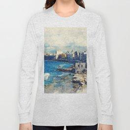 Trapani art 19 Sicily Long Sleeve T-shirt
