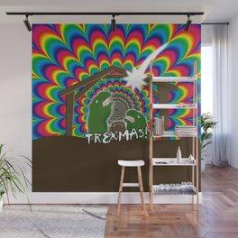 Merr-roary T-ReXmas! Wall Mural
