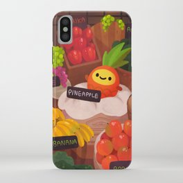 Pineapple NANA in the market iPhone Case