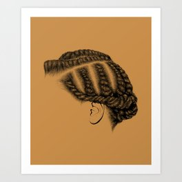 Crown: Flat Twists Art Print