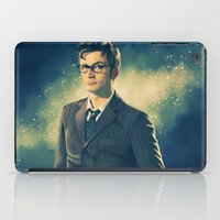 david tennant iPad Cases featuring David Tennant - Doctor Who 2 by KanaHyde
