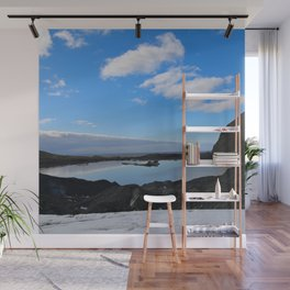 Icelandic Reflection Wall Mural