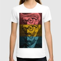 van gogh T-shirts featuring Hipster Van Gogh by Josrick