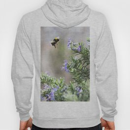 bumble bee flight Hoody