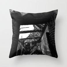 Exit Throw Pillow