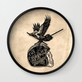 The Wings of Freedom Wall Clock