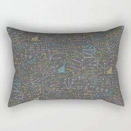 Math Lesson Rectangular Pillow