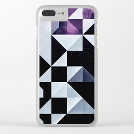 qyxt pixel Clear iPhone Case