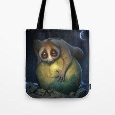 Loris Planet Tote Bag