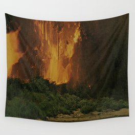Hot Wall Tapestry