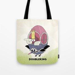 DOUBLE KING: Ovum Regia Tote Bag