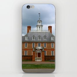 Governers Palace Colonial Williamsburg iPhone Skin